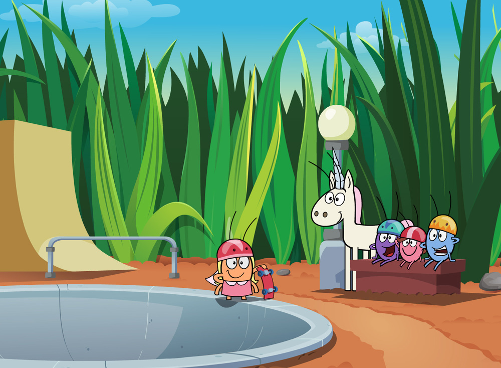 Backyardigans Background : Nickelodeon mtv networks michael lennicx