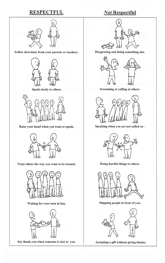 Printables Behavior Worksheets behavior worksheets stieg art made for elementary school kids teaching respectful behavior